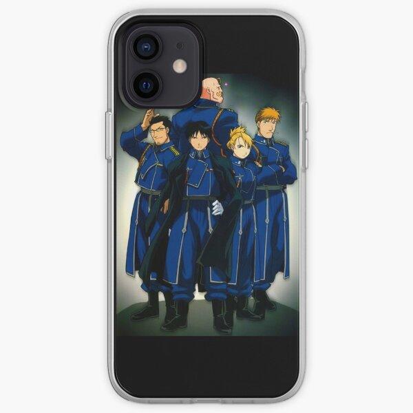 Unité Mustang Fullmetal Alchemist Brotherhood Coque souple iPhone