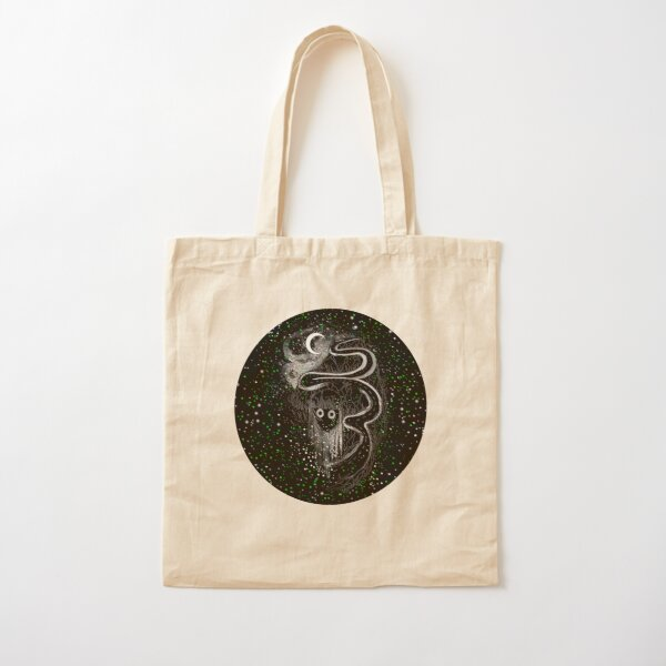 The ghost of Uniondale Cotton Tote Bag