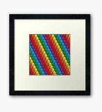 Kaleidoscope art Framed Print