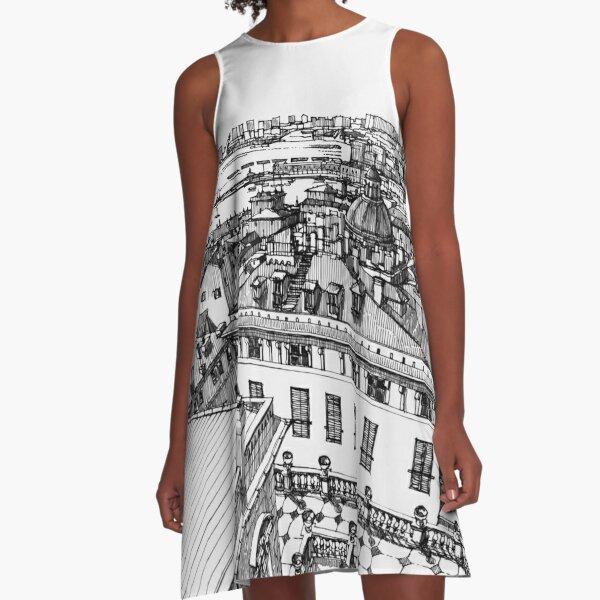 Genova da Palazzo Rosso A-Line Dress