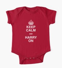 Keep Calm and Harry On - (A Right Royal T Shirt!) Kids Clothes