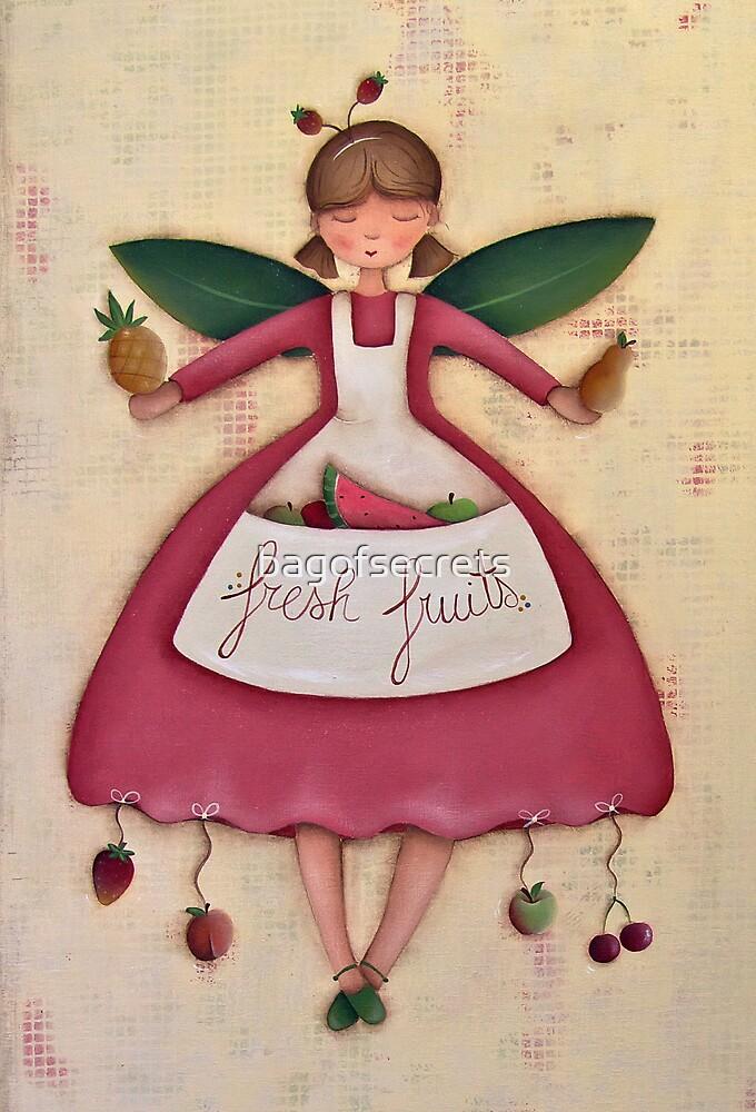 Fruit Angel by bagofsecrets