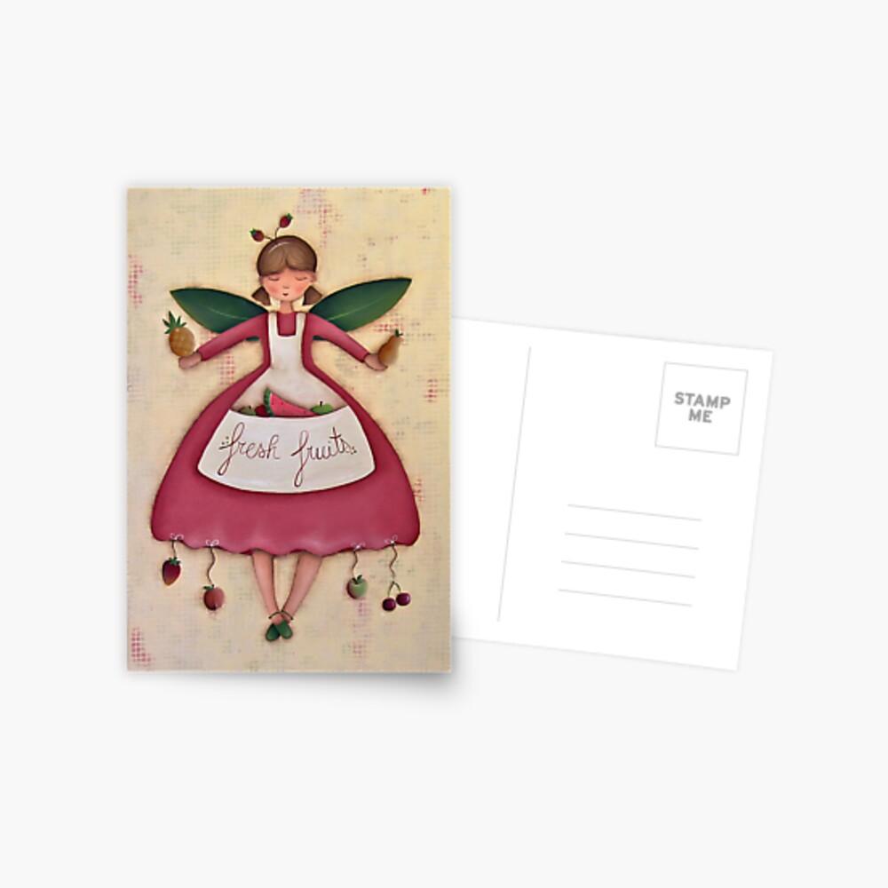 Fruit Angel Postcard