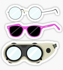 Glasses and Goggles- Potter/Starkid/Dr.Horrible Sticker