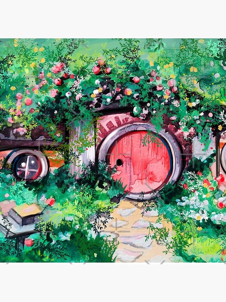 Hobbiton Shire in the Spring by artbysavi