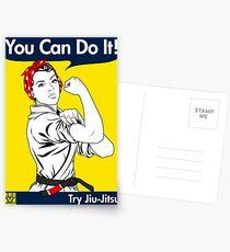Try Jiu-Jitsu Postcards