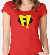 freakazoid logo Women's Fitted Scoop T-Shirt