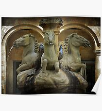 A fonte dos cabalos Poster