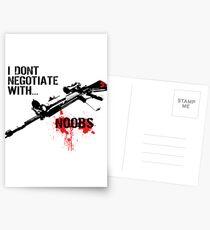 Negotiate Postcards