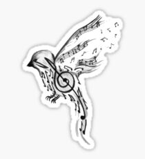 Musical bird  Sticker