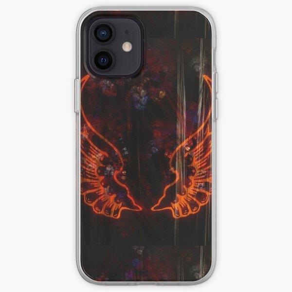 Entzündliche Flügel iPhone Flexible Hülle