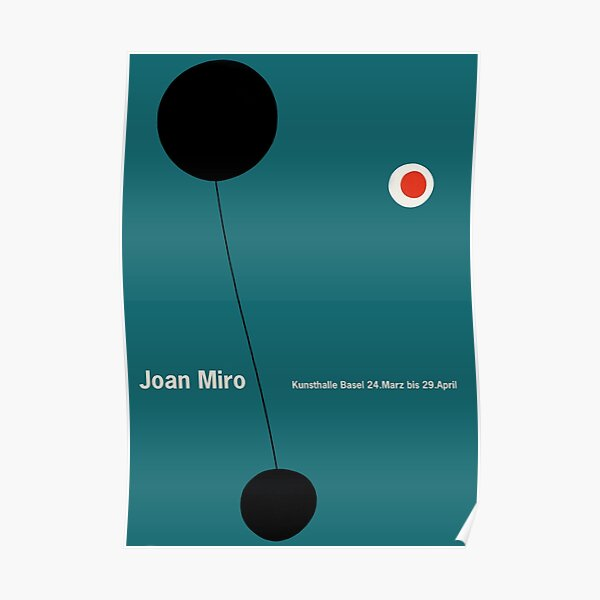 Miro - Affiche d'exposition Poster