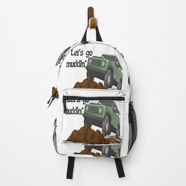 Let's go muddin' Backpack
