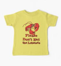 Please Don't Eat the Lobsters Kids Clothes
