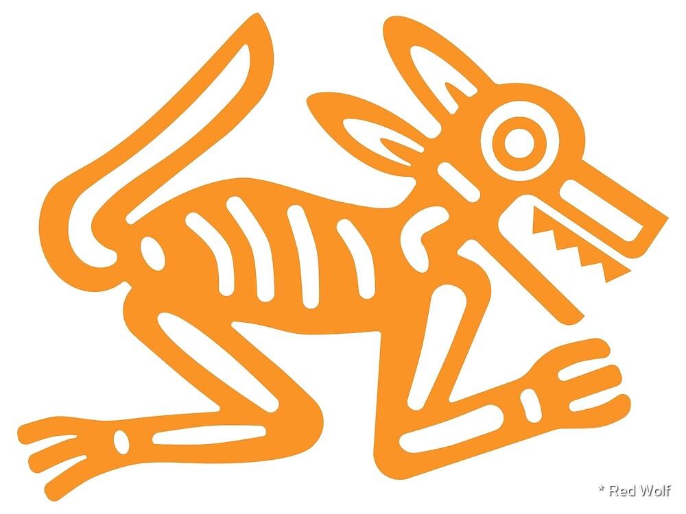 Wolf: North: Orange by * Red Wolf