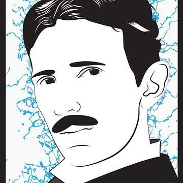 Nikola Tesla by enigma630