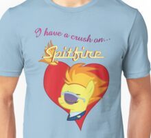 I have a crush on... Spitfire - with text Unisex T-Shirt