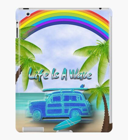 Life Is A Wave iPad Case/Skin