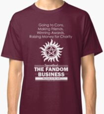 The Fandom Business - White Classic T-Shirt