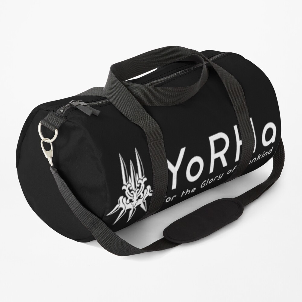 YoRHa - White Duffle Bag