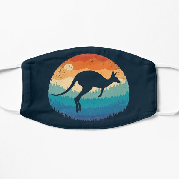 Retro Kangaroo Flat Mask