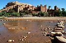 Kasbah in Skoura Morocco by Debbie Pinard