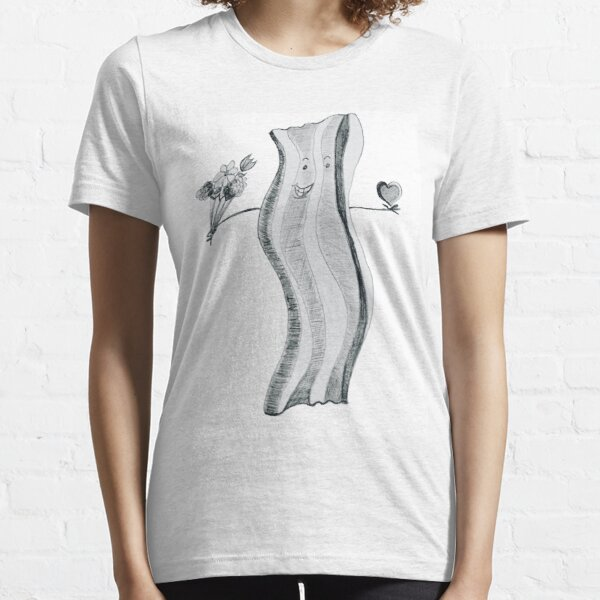 Bacon Loves You by Jen Thorpe Essential T-Shirt