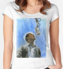Sam Cooke Women's Fitted Scoop T-Shirt
