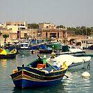 Maltese Fishing Harbour by Stan Owen