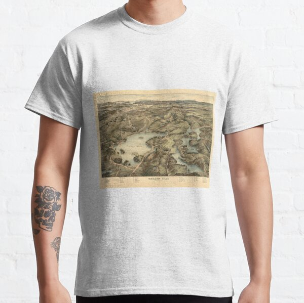 Vintage Middlesex Fells Reservation Map (1903) Classic T-Shirt