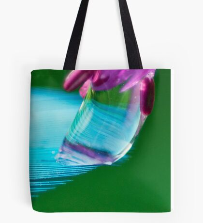 Shimmering Blue Tote Bag