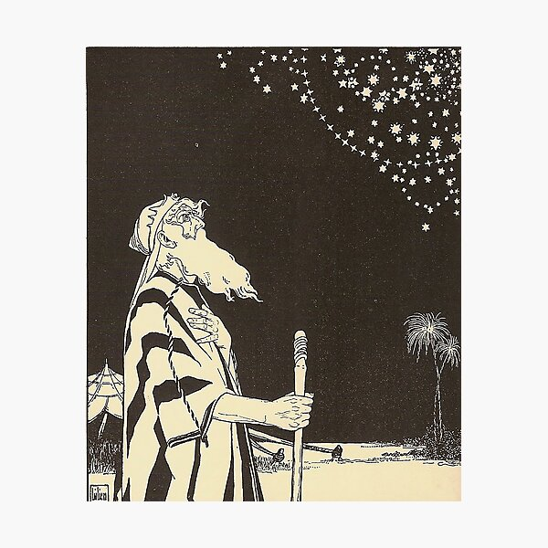 HD. Abraham, by Ephraim Moses Lilien Photographic Print