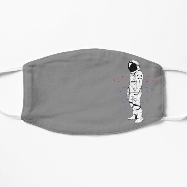 Subtle Bisexual Astronaut LGBTQ+ Pride Flat Mask