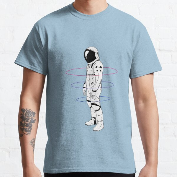 Subtle Bisexual Astronaut LGBTQ+ Pride Classic T-Shirt