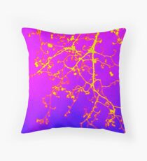 bright colourful tree photograph taken in London 2013 Throw Pillow