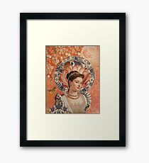Lacey Framed Print