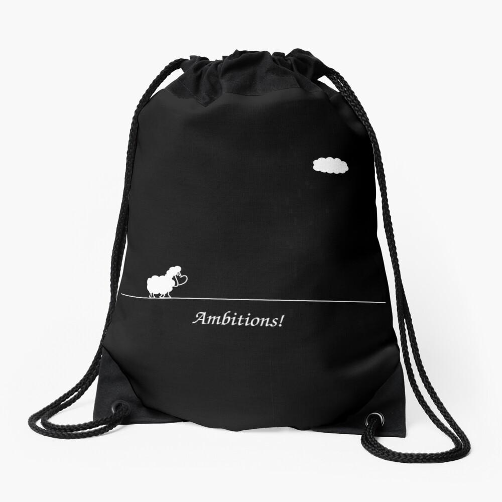 Ambitions! Drawstring Bag