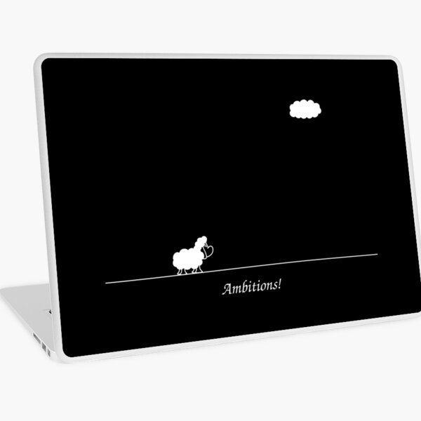 Ambitions! Laptop Skin