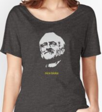 Jeremy Corbyn 'nice bloke' Women's Relaxed Fit T-Shirt