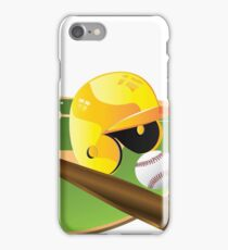Yellow Baseball iPhone Case/Skin