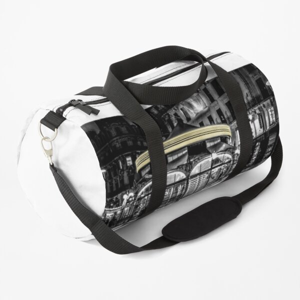A long Exposure on a French Carousel Duffle Bag