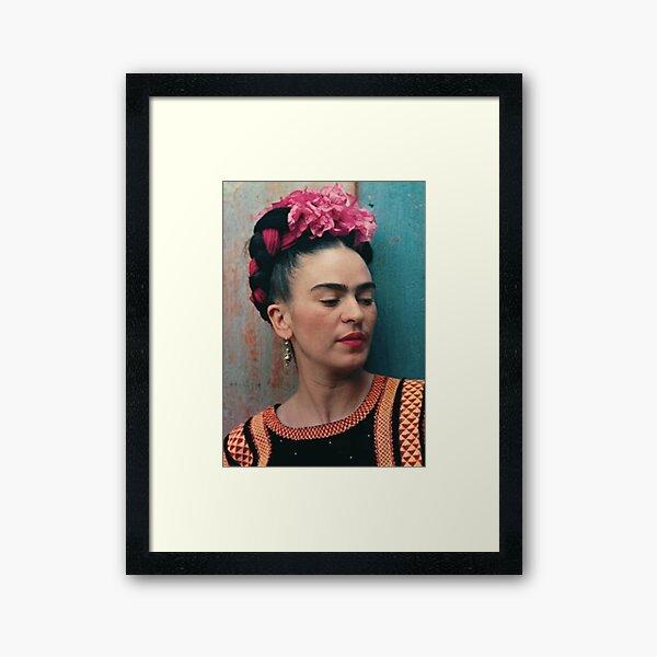 Artiste de T-shirt Frida Khalo Impression encadrée