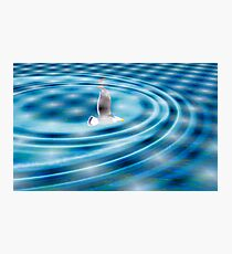 Rippled Photographic Print