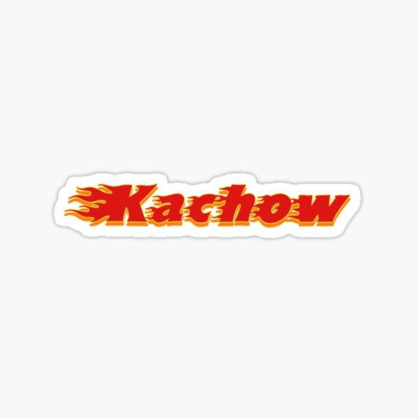 Kachow sticker Sticker