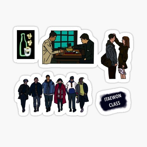 Classe Itaewon Sticker