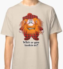 Jock MacNutter - Whit ur you lookin at? Classic T-Shirt