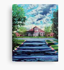 'THE WALK TO SCHOOL' (OLDE PROVIDENCE ELEMENTARY)  Canvas Print