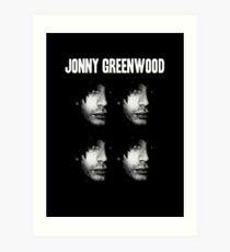 Jonny Greenwood Art Print