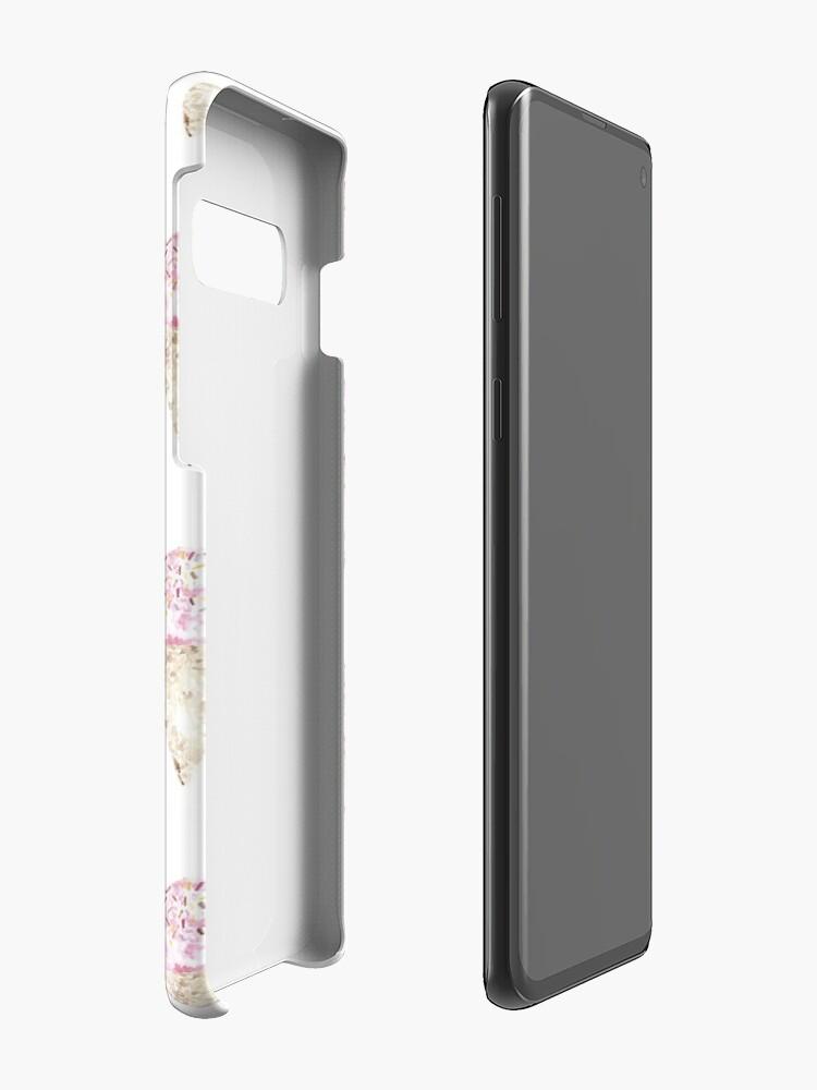 Vista alternativa de Funda y vinilo para Samsung Galaxy Pink Ice Cream Pattern