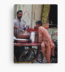 Spicy Food makes Hungry Canvas Print